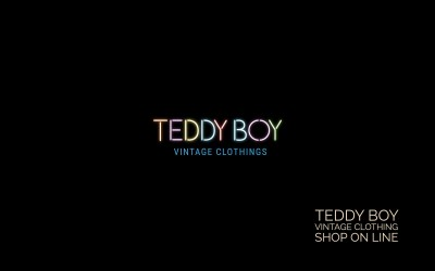 Teddy Boy-Vintage Clothings-Shop on line-realizzazione e-commerce