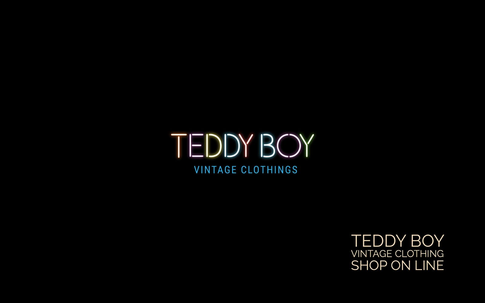 Teddy Boy-Vintage Clothings-Shop on line-realizzazione e-commerce