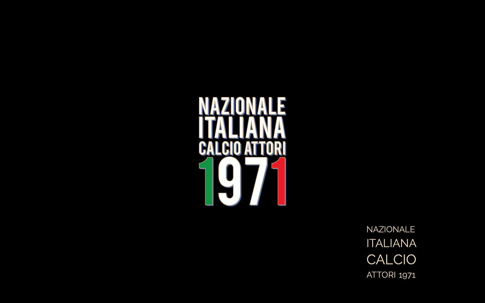 NAZIONALE CALCIO ATTORI 1971